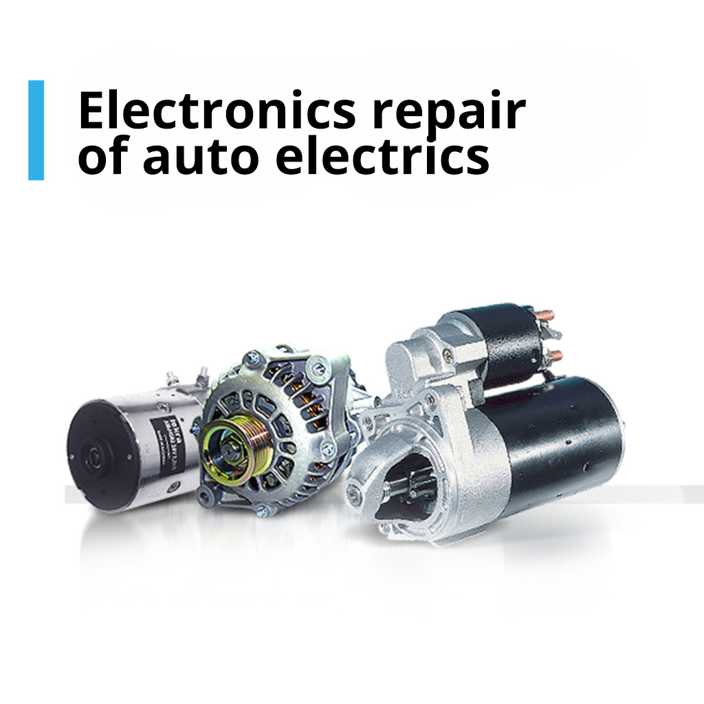 Electronics repair of auto electrics